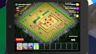 Clash of Clans - Level 15 (200 Barbarians) Immovable Object