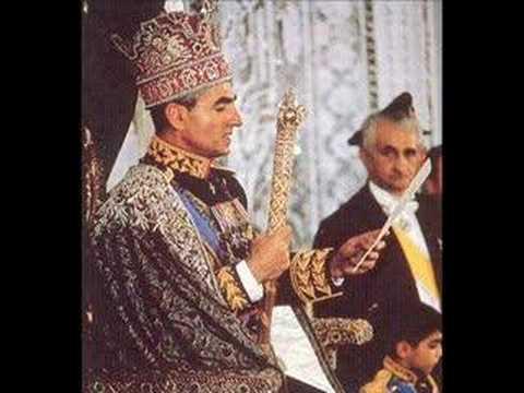 Coronation of him mohamad reza pahlavi him farah pahlavi for Shah bano farah pahlavi