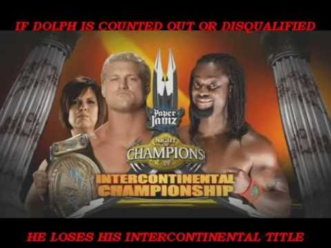 Wwe night of champions 2010 final upgraded match card hq youtube - Night of champions 2010 match card ...