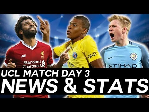 EVERYTHING You Need To Know From Match Day 3 - UEFA CHAMPIONS LEAGUE RECAP!