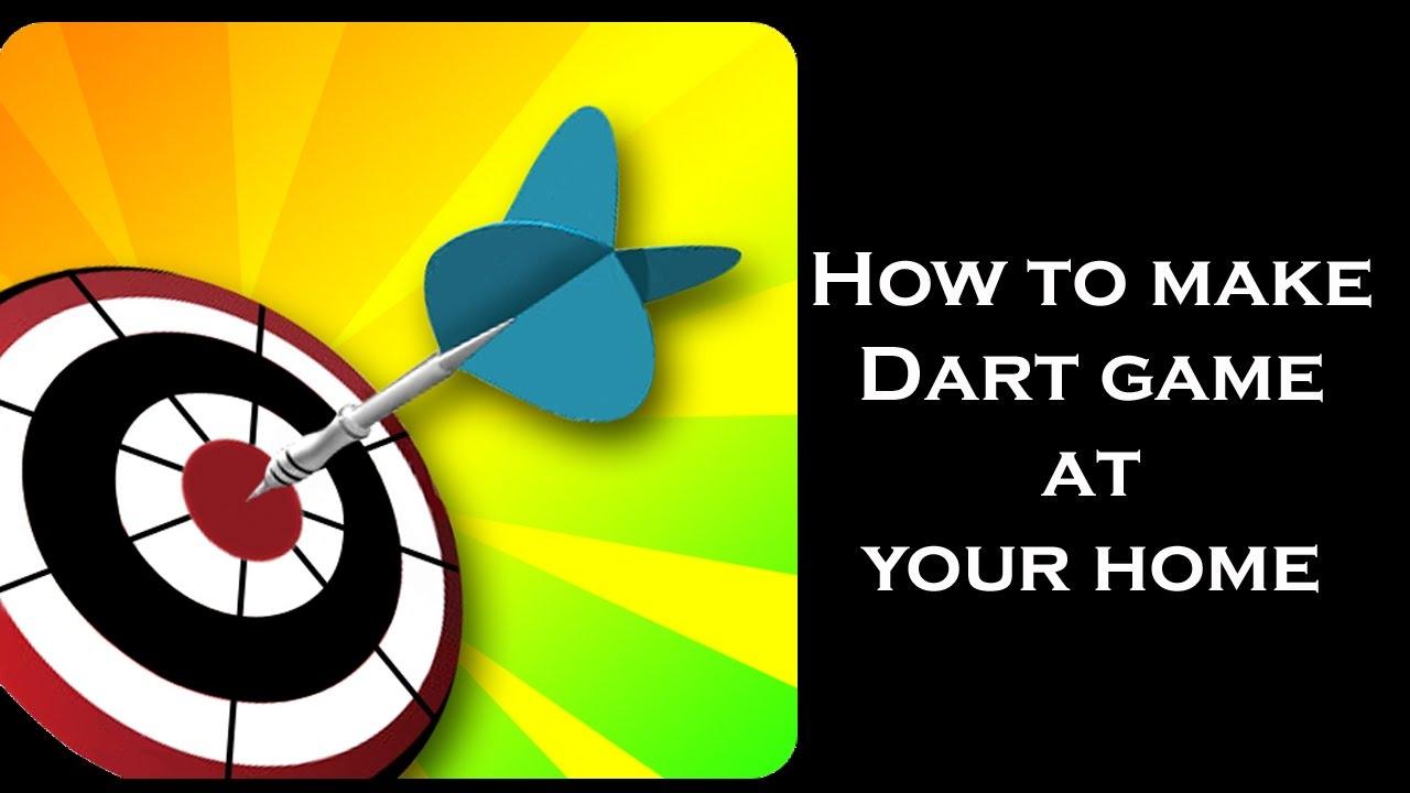 How To Make Indoor Games Fun Indoor Activities For Kids Make Dart Game And Dart Board