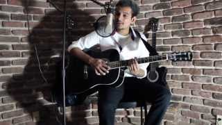 For The First Time-(The Script) Acoustic Cover by Areeb Khan
