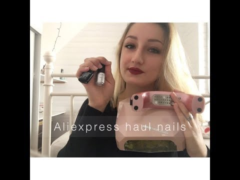 ♡ALIEXPRESS NAILS HAUL : lampes UV, vernis semi-permanents, tatouages pour ongles...♡