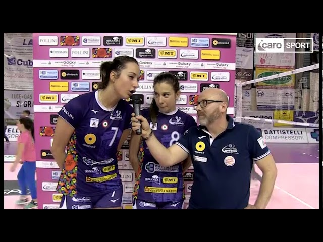 Icaro Sport. Gara1 play off A2: Battistelli-Soverato 3-1