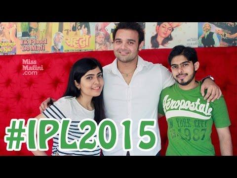 MissMalini's Bowled Over By Cricket IPL Hangout With Mahaakshay Chakraborty