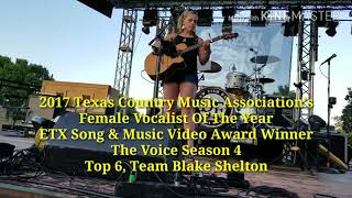 Holly Tucker Texas Country Music Songwriter, Top 6 The Voice Team Blake Shelton, Video Preview