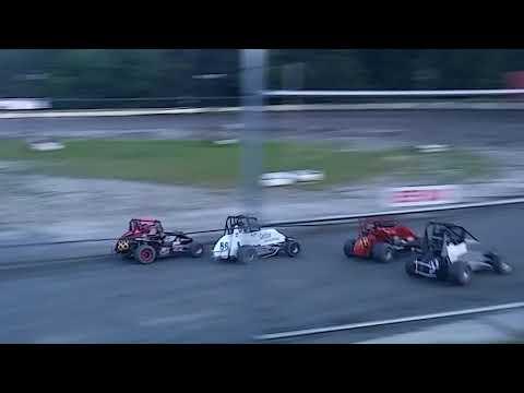 9/7/18 Legion Speedway 500cc Granite State Mini Sprint Heat Race