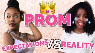 PROM EXPECTATIONS VS  REALITY w/ Arianna Jonae!