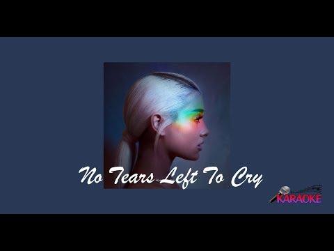 Ariana Grande - No Tears Left To Cry (Karaoke)