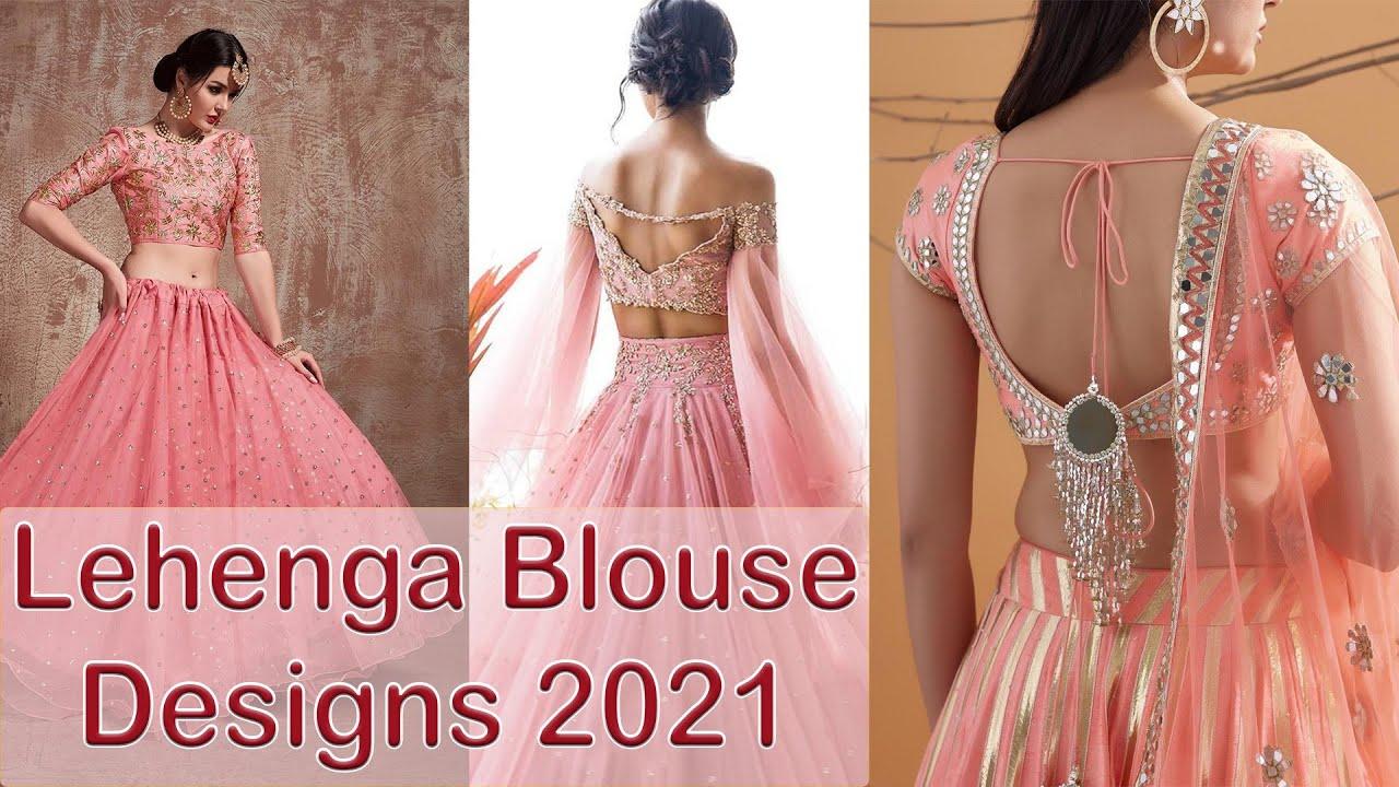 71 Lehenga Blouse Designs For Girl 2020 Lehenga Blouse Online Don T Miss What S In Description Youtube