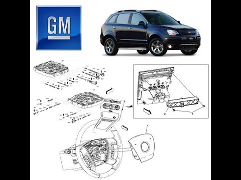 gm captiva   manual de servico youtube