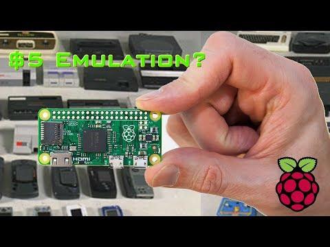 $5 NES, SNES, Genesis Emulation - Raspberry Pi Zero