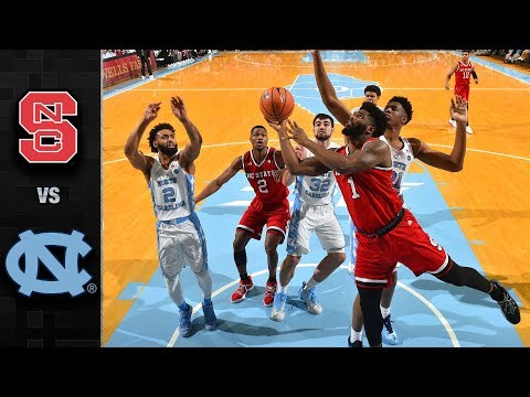 NC State vs. North Carolina Basketball Highlights (2017-18)