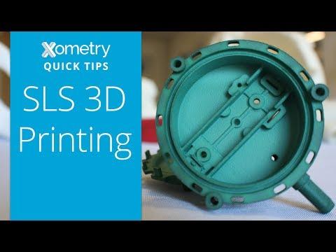 Xometry Quick Tips: SLS 3D Printing