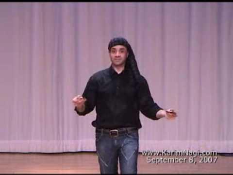 Karim Nagi performs on Finger Cymbals (Zills, Sagat)