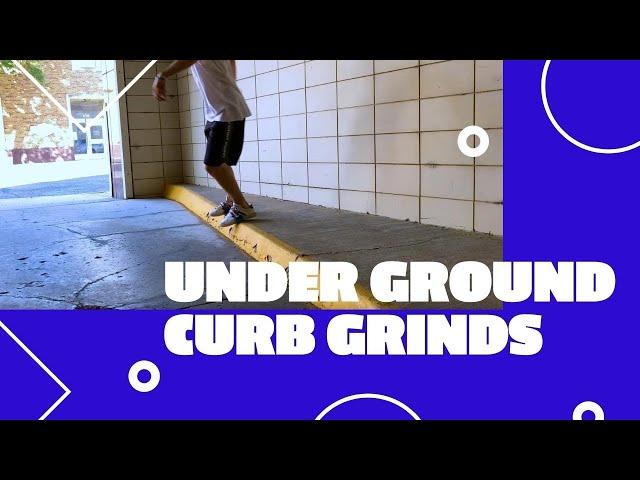 Under Ground Curb Grinds | Skidz Grindplates
