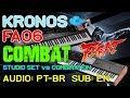 Korg kronos vs roland fa06 studio set vs combi mp3