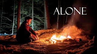 3 Days Winter Camṗing Alone