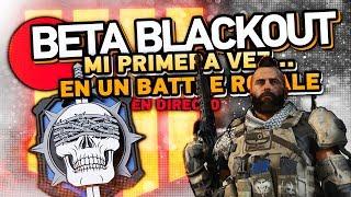 MI 1ª VEZ en un Battle Royale - BETA BLACKOUT en DIRECTO!! - GuiasTacticasESP