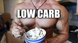 The Hardbody Shredding Low Carb Diet | FULL DAY OF EATING | Hardbody Shredding Ep 19