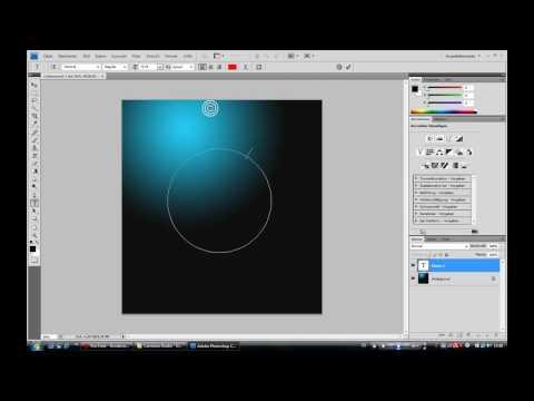 PhotoShop TuT Im Kreis Schreiben