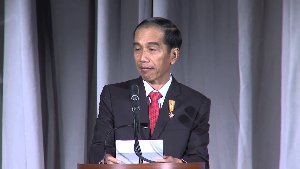 Oct 26 2015 president jokowi delivers speech at gala hosted by youtube premium reheart Images