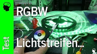 Led RGBw Streifen - Auf der Suche nach g´scheiten Ansteuerung