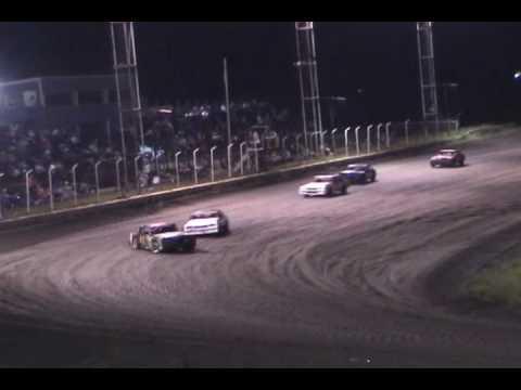 2005-2006 Paris Motor Speedway IMCA Stock Car highlights for JP Motorsports - Highlights 3