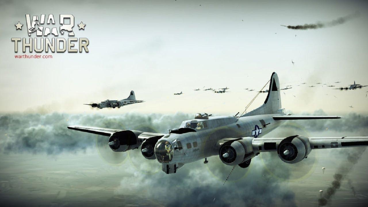 War Thunder : B-17G en formation