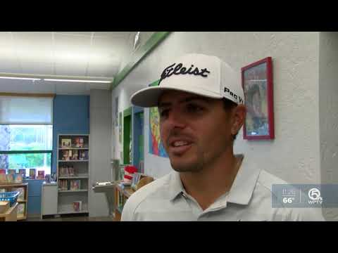 Golfers Visit Timber Trace Elementary 2/26
