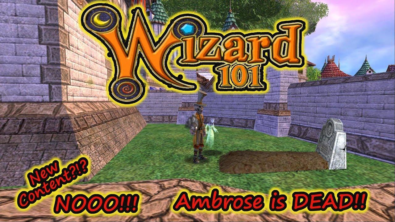 wizard101 is dead