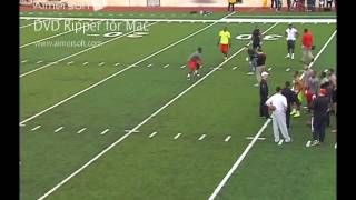 Rutgers University's Marvin Booker's Pro Day