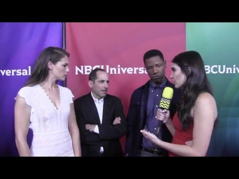 Amanda Righetti, Peter Jacobson & Tory Kittles @ NBC Universal's Winter Press Day | AfterBuzz TV