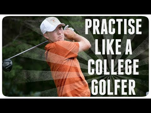 GOLF PRACTICE SCHEDULE USED BY COLLEGE GOLFERS