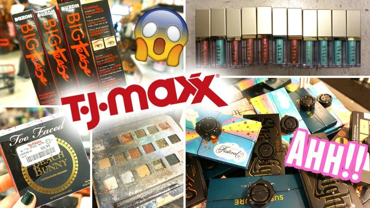 NEW MAKEUP AT TJ MAXX!! TJ MAXX JACKPOT!! TJ MAXX SHOP