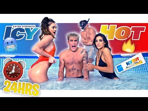 LAST To Leave ICY HOT Pool Wins $10,000 - Challenge!