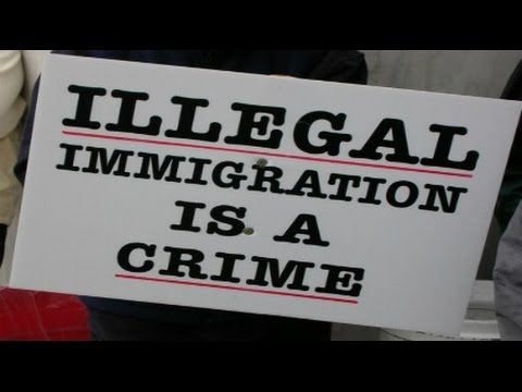 Breaking Donald Trump having to deal with Illegal Immigration Crisis August 26 2016