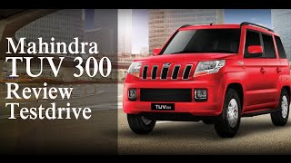 Mahindra TUV 300 Review & Testdrive | Smart Drive 05th October 2015