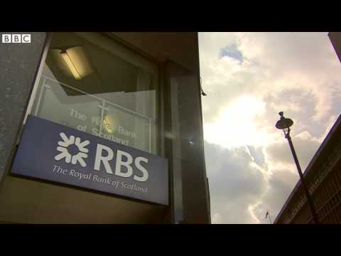 Royal Bank of Scotland sell off begins