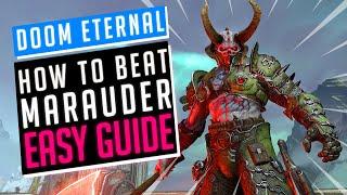 Doom Eternal | H๐w to Easily beat Marauder in 30 seconds