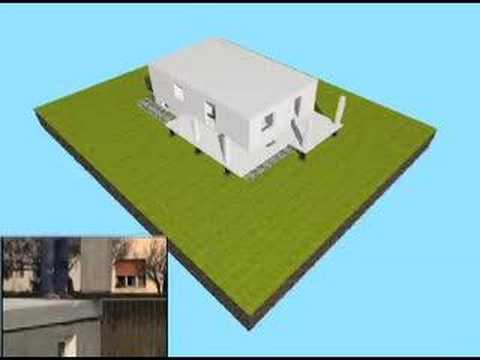 Costruzione con copertura in legno youtube for Eme ursella