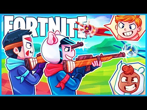 *AMAZING* SNIPERS vs. PLANES MINI GAME in Fortnite Creative Mode! (Fortnite Funny Moments)