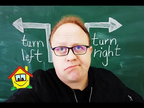 Teaching Directions :  Turn Left / Right/ Go straight - Funny ESL Tutorial for your Class