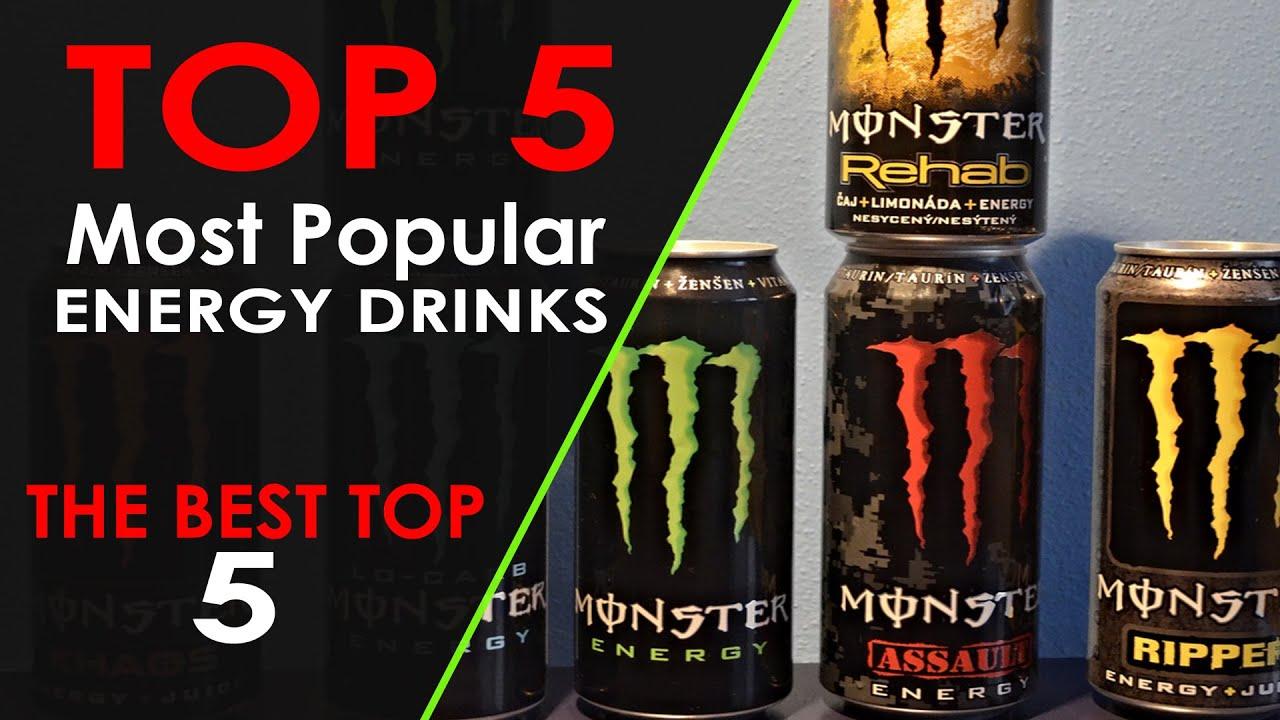 top 5 most popular energy drinks youtube. Black Bedroom Furniture Sets. Home Design Ideas