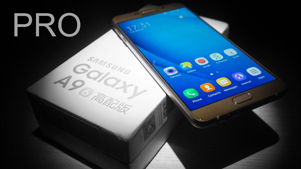 Samsung Galaxy A9 Pro Unboxing Hands On Youtube