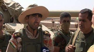 البيشمركة تقترب من الحمدانية وتهدد وجود داعش بالموصل