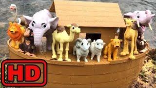 Kid -Kids -Animals Ark Playset Attack By SHARK/Noah's Animals Ark Fun Toys For Kids/ABC Animals