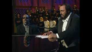 Peace Wanted Just to Be Free - Stevie Wonder, Pavarotti & Friends for War Child 1998