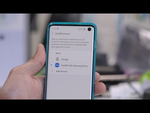 How To Change Samsung Pass Autofill To Google Or LastPass!
