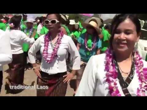 Tranditional Laos Dance | traditional laos clothing | Cuture of Laos